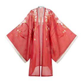 Váy Thịnh Đường Chu Sa